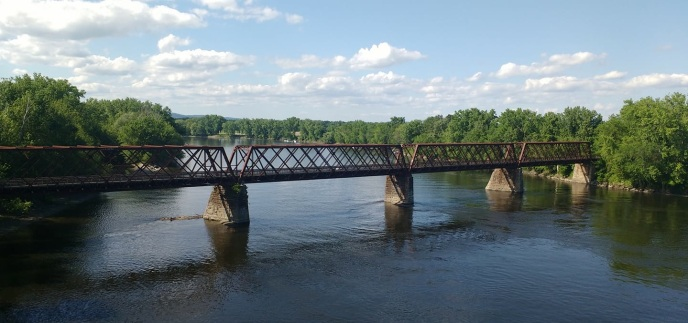 Northampton Rail Trail System, Northampton Bridge