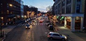 Downtown Northampton, winter